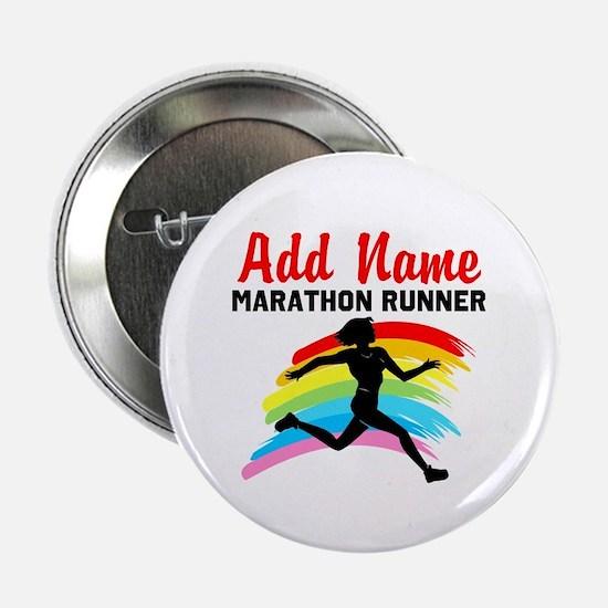 """MARATHON RUNNER 2.25"""" Button"""
