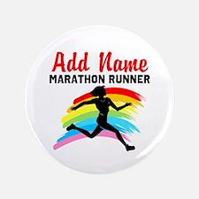 """MARATHON RUNNER 3.5"""" Button (100 pack)"""