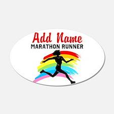 MARATHON RUNNER Wall Sticker
