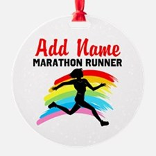 MARATHON RUNNER Ornament