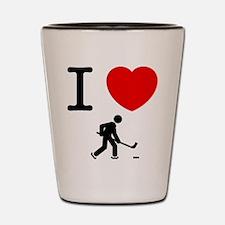Ice Hockey Shot Glass