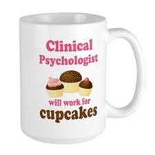 Clinical Psychologist Cupcake Mug