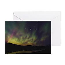 Aurora Borealis Christmas Card
