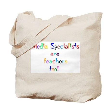 Media Specialist Kids Tote Bag