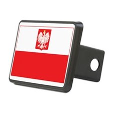 Polish Falcon Flag Hitch Cover
