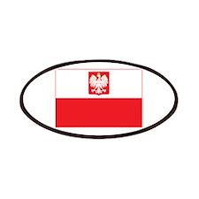 Polish Falcon Flag Patches