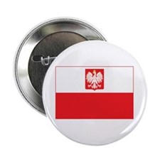 "Polish Falcon Flag 2.25"" Button"