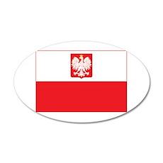 Polish Falcon Flag Wall Decal