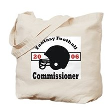 Fantasy Football Commissioner Tote Bag