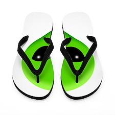 green alien.png Flip Flops