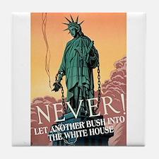 NEVER! Tile Coaster