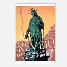 NEVER! Postcards (Package of 8)