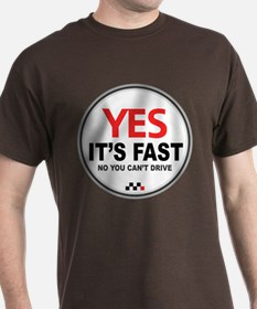 Austin-Healey -Yes It's Fast T-Shirt