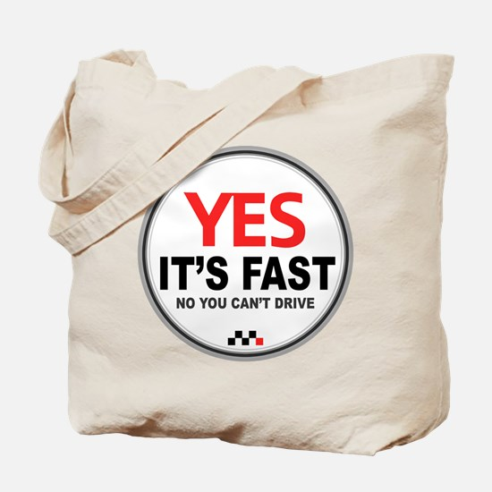Austin-Healey -Yes It's Fast Tote Bag