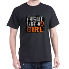 Fight Like a Girl 31.8 MS T-Shirt
