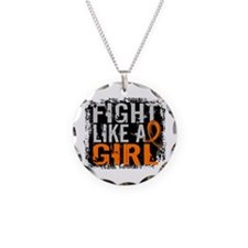 Fight Like a Girl 31.8 MS Necklace