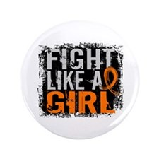 """Fight Like a Girl 31.8 MS 3.5"""" Button (100 pack)"""