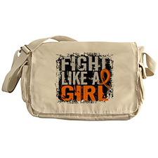 Fight Like a Girl 31.8 MS Messenger Bag