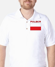 Polish Flag With Polska T-Shirt