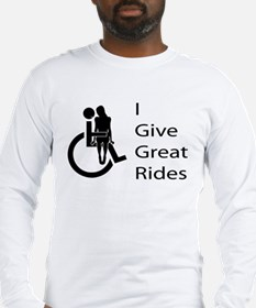 i-give-great-rides2 Long Sleeve T-Shirt