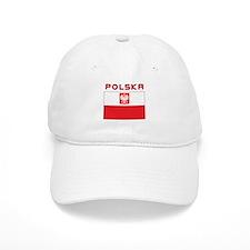 Polish Falcon Flag With Polska Baseball Cap