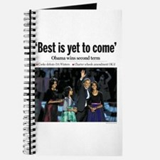 Best is Yet to Come: Obama 2012 Journal
