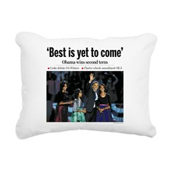 Best is Yet to Come.png Rectangular Canvas Pillow