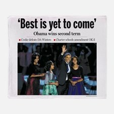 Best is Yet to Come.png Throw Blanket