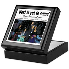 Best is Yet to Come Obama 2012 Keepsake Box
