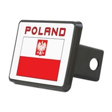 Polish Falcon Flag With Poland Hitch Cover