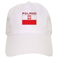 Polish Falcon Flag With Poland Baseball Cap