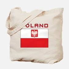 Polish Falcon Flag With Poland Tote Bag