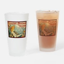 ART NOUVEAU Drinking Glass