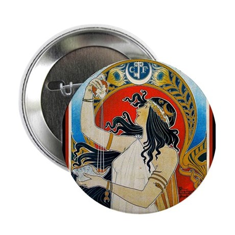 "ART NOUVEAU 2.25"" Button (100 pack)"