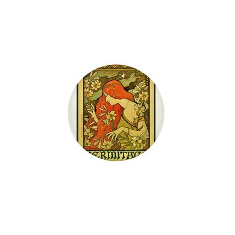 ART NOUVEAU Mini Button (10 pack)