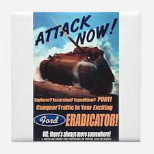 Ford Eradicator Tile Coaster