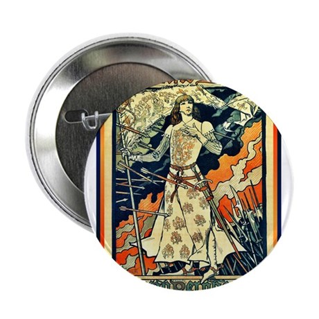 "ART NOUVEAU 2.25"" Button"