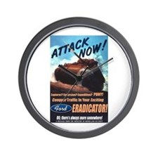 Ford Eradicator Wall Clock