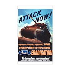 Ford Eradicator Rectangle Decal