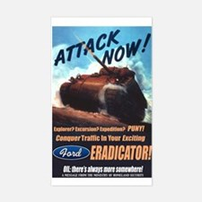 Ford Eradicator Rectangle Decal