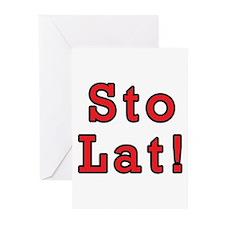 Sto Lat! Greeting Cards (Pk of 10)