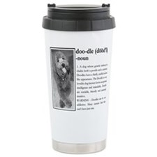 Cute Golden doodles Travel Mug