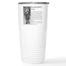 Cute Australian goldendoodle Travel Mug