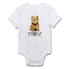 I love my Norwich Terrier Infant Creeper