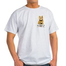 I love my Norwich Terrier Ash Grey T-Shirt