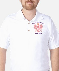 World's Greatest Babcia Red Eagle T-Shirt