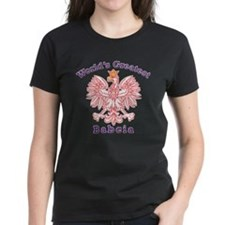 World's Greatest Babcia Red Eagle Tee