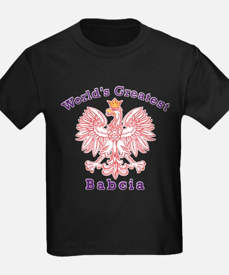 World's Greatest Babcia Red Eagle T
