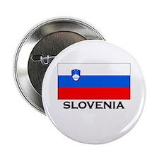 Slovenia Flag Merchandise Button