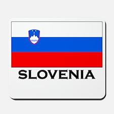 Slovenia Flag Merchandise Mousepad